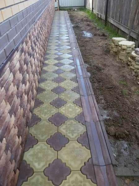 Тротуарная плитка под ключ в Егорьевске фото 4