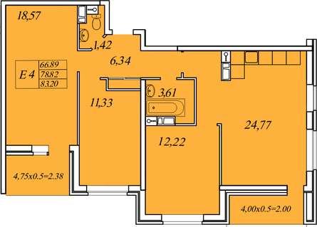 Квартира в жк Иван да Марья