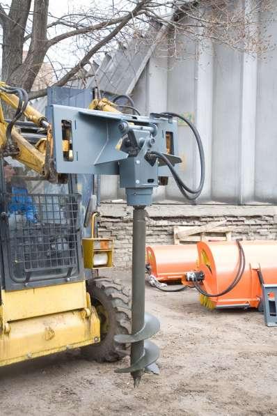 Буровая установка на мини-погрузчик (Bobcat,Case,NewHolland) в Москве фото 3
