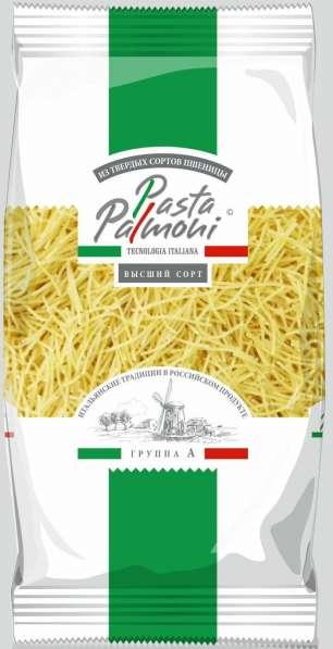 """Макаронные изделия ТМ """"Pasta Palmoni"""",гр А,вермишель,400гр"""