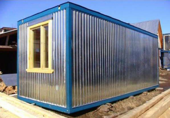Изготавим блок-контейнеры для рабочих (строительные бытовки)