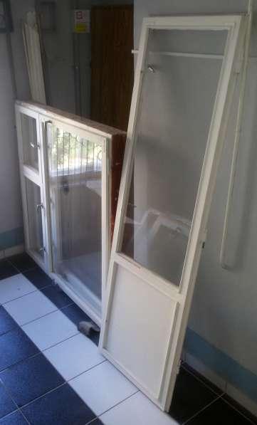 Окна и двери б/у