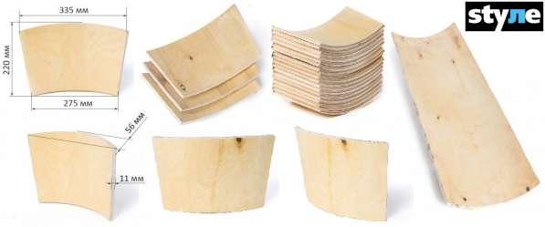 Спинка для стула из гнутоклееной фанеры