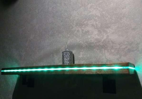 Полка с подсветкой