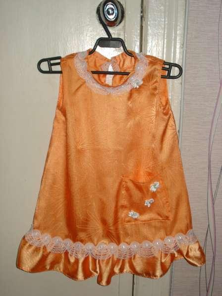 Детское платье на 5 лет