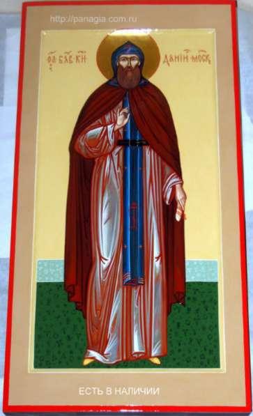 Рукописная икона св. князя Даниила