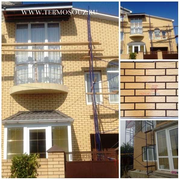Фасадные клинкерные термопанели от производителя в Краснодаре фото 7