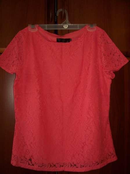 Гипюровая блузка, размер 48-50