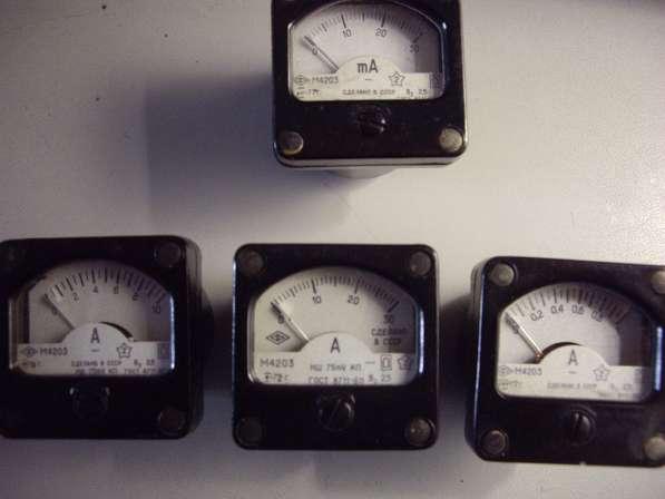 Измерительные головки для радиолюбителей М4203 в Челябинске фото 9