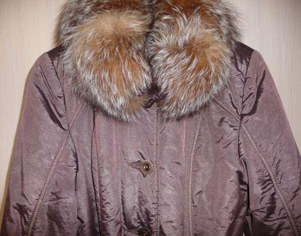 Куртка-пальто 2 в 1: осень-зима, р-44(46)