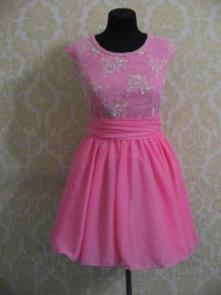 """легкое платье """"Розовый рассвет"""""""