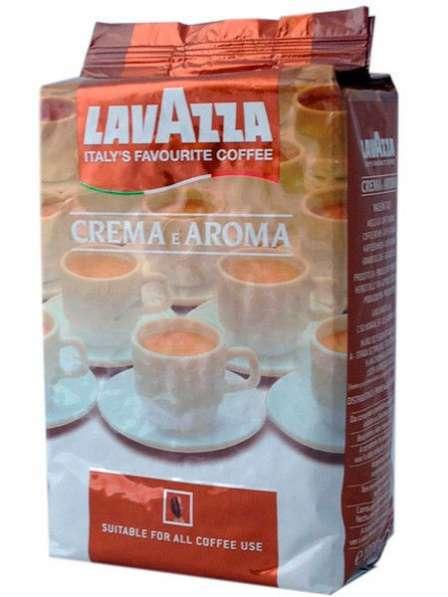 Кофе Lavazza Crema e Aroma в зернах