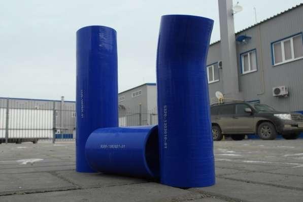 Патрубки радиатора КАМАЗ (силикон, 4 слоя) FERNFAHRER