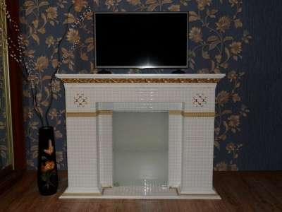 камин декоративный камин из мозаики