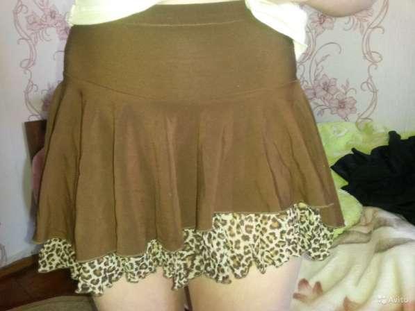 Продам тренировочную юбку для бальных танцев, рост 140, б/у в Челябинске