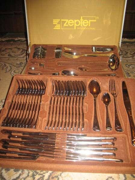 Набор столовых приборов (ложки, вилки, ножи и др.)