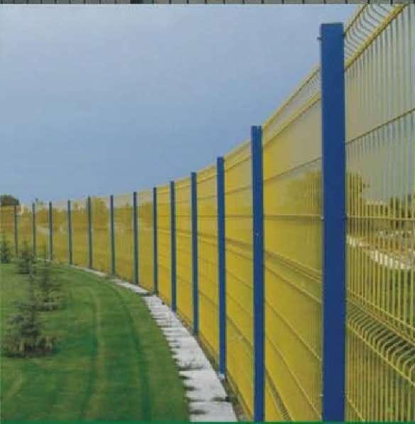 3D Евро заборы, сварные панели 2430x2500x3мм
