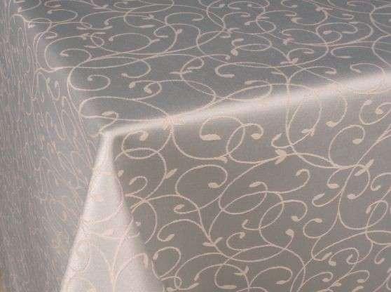 Скатерти Ткань «Ричард», рис 1812. цвет — белый