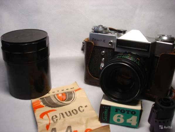 Фотоаппарат Зенит-Е объектив Гелиос 44-2 в Санкт-Петербурге фото 5