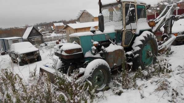 Продам трактор-экскаватор в рабочем состоянии в Дмитрове