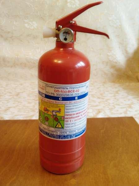 Огнетушитель автомобильный ОП-1(3)-ВСЕ-02 в Бобруйске новый