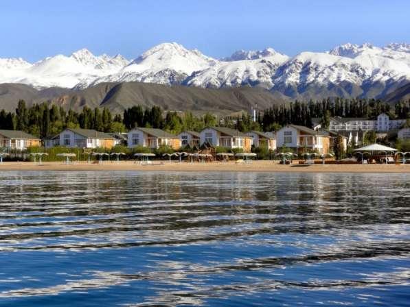 Иссык-Куль, горы : пляжный отдых, треки, автотуры