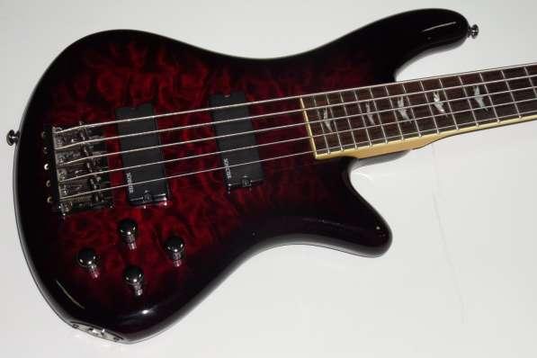 Бас гитара Schecter stiletto extreme-5 BCH