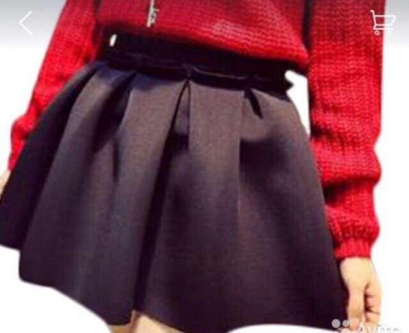Черная юбка. Размер 42-44. 600 руб
