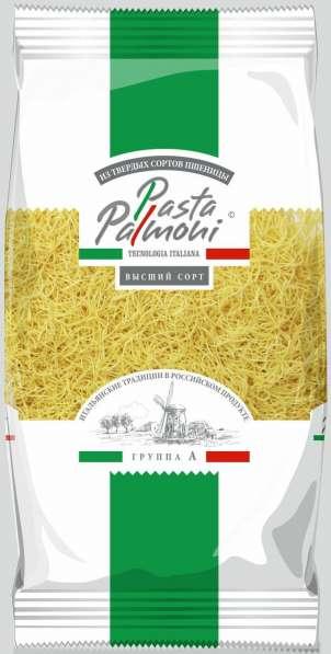 """Макароны ТМ """"Pasta Palmoni"""", группа А,в/с, Паутинка, 400 гр"""
