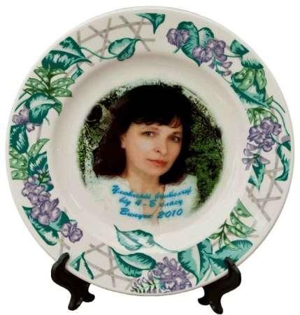 одной печать фото на тарелках иркутск продаже