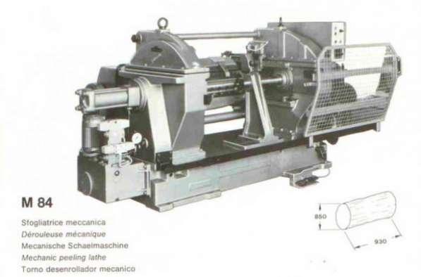 Лущильный станок coralim84 для производства тарной заготовки