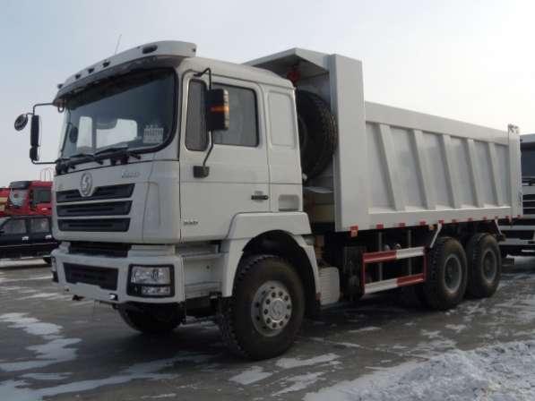 Самосвал Shacman 6x6 430 л.с.