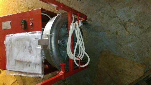 Установка АИСТ-2 для сушки и талькирования пожарных рукавов из наличия