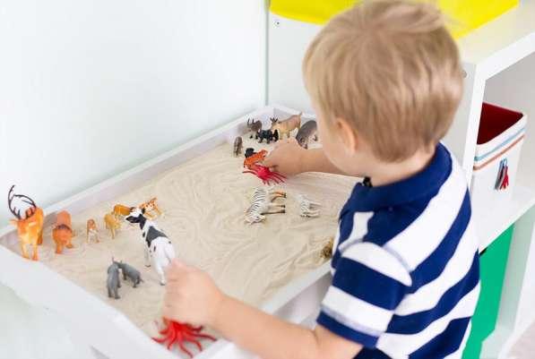 Песочная терапия для детей от 3