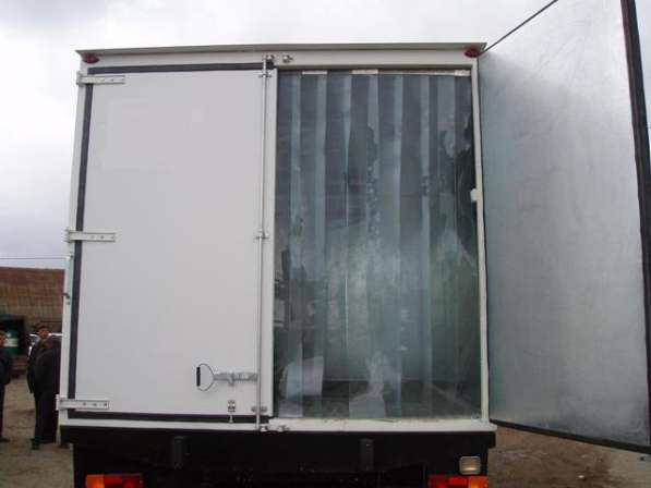 ПВХ завесы жалюзи на склад камеру в Самаре фото 3
