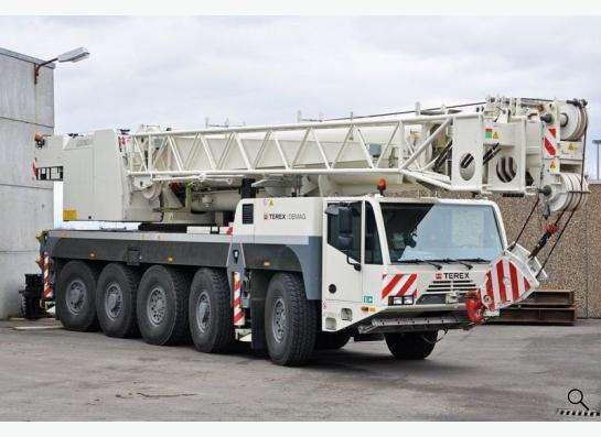 Аренда автокрана 120 тонн 60(77) метров Terex-Demag AC 120-1