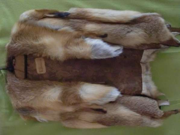 Крутой лисий жилет (дикая лиса) в Москве фото 3
