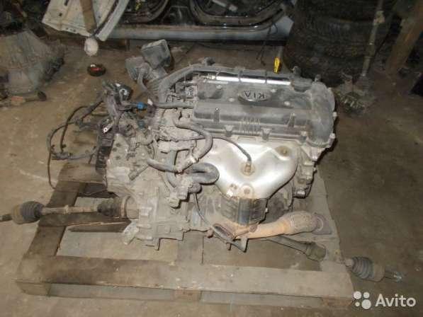 Двигатель на Kia Rio 3