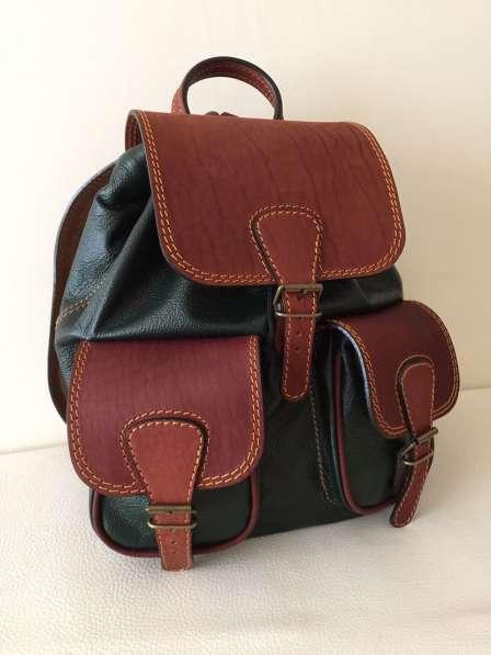 Кожаные рюкзаки от производителя с Бесплатной Доставкой!