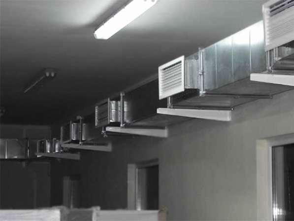 Монтаж и подбор кондиционеров, систем охлаждения, вентиляци