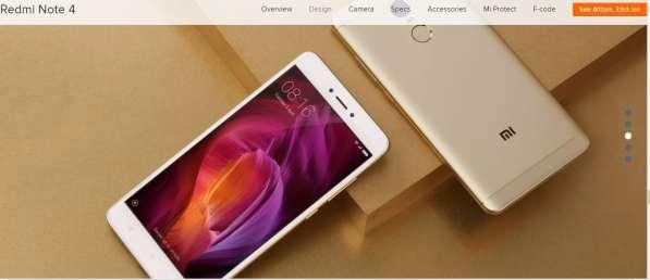 Смартфон Xiaomi Redmi Note 4 64Gb в