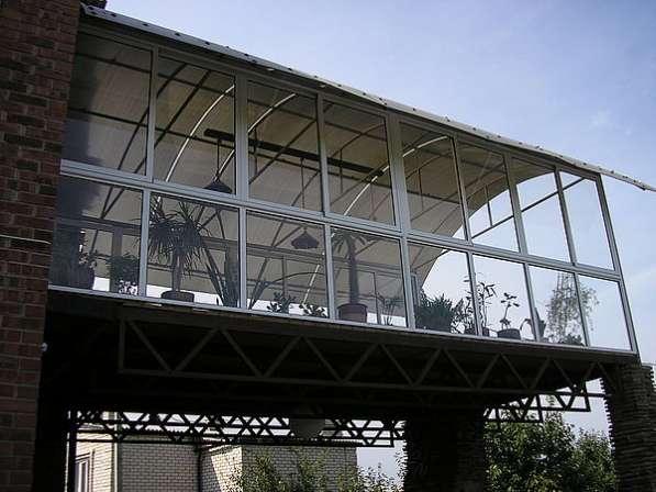 Перегородки, остекление, алюминиевые конструкции. В Дмитрове в Дмитрове фото 3