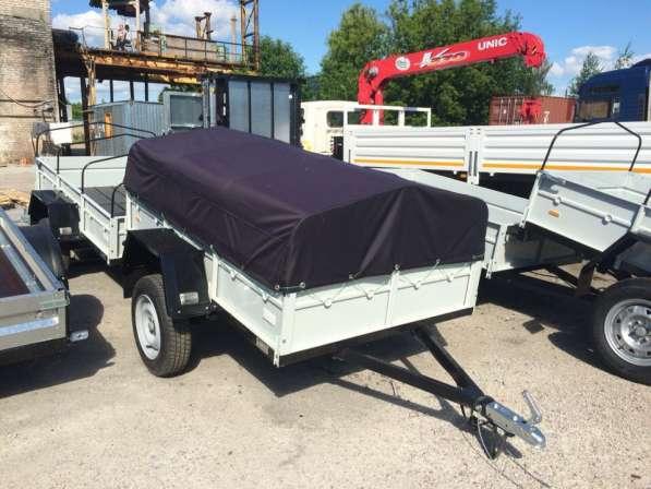 Легковой автомобильный прицеп КРД 100А 2.0х1.3м