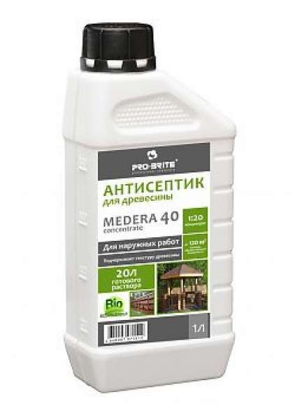 Антисептик-консервант для древесины Medera 40 Concentrate