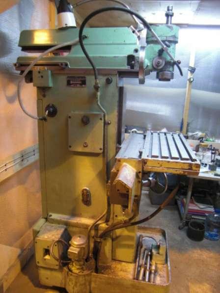 СТАНОК универсально-фрезерный 676П (88г)из МАКЕТКИ сОСНАСТК в Зеленограде