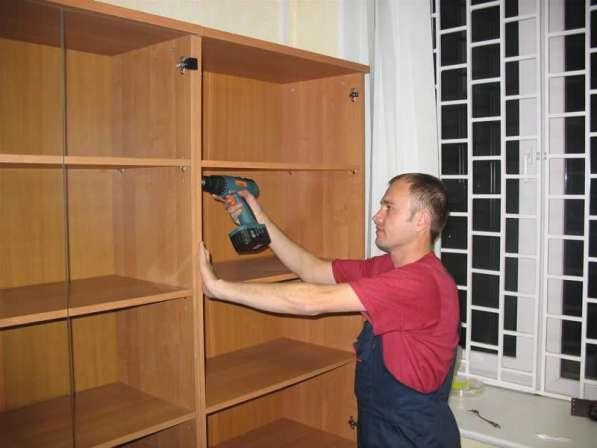 Профессиональная сборка-разборка мебели