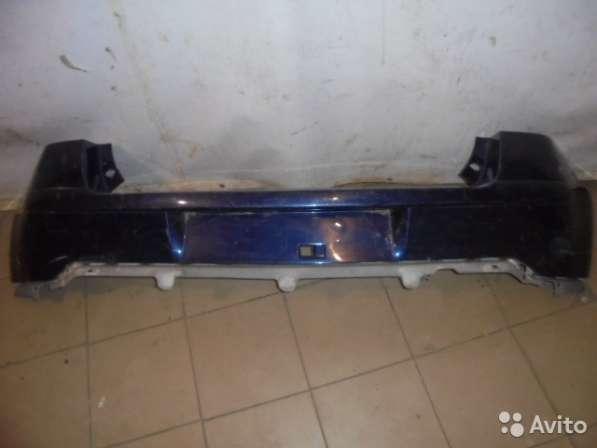 Бампер задний для Citroen C4 (3-х дверка)