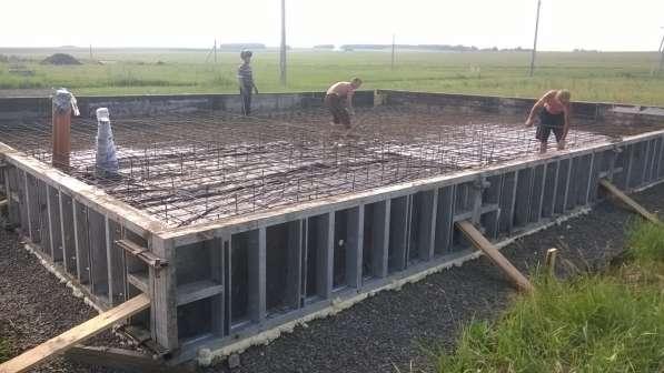 Фундаменты под ключ-алюминиевая опалубка