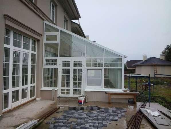 Зимний сад. Алюминиевые светопрозрачные конструкции в Нижнем Новгороде