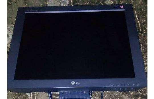 LCD LG плоский монитор 42см